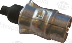 ALUMINIUM 7 PIN TRAILER PLUG (HEL0130)