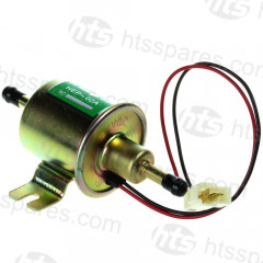ROUND BODY FUEL PUMP C/W PLUG 12 VOLT (HEL0302)