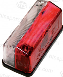 RED & WHITE MARKER LAMP (HEL0445)