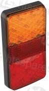 LED RECTANGULAR 4 FUNCTION LAMP C/W REFLECTOR (HEL0692)