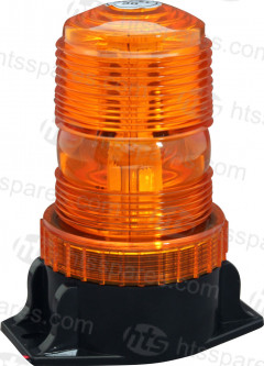 LED COMPACT BEACON 12/24V AMBER (HEL0745)
