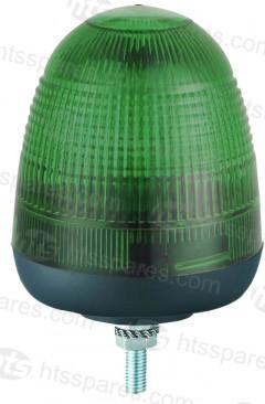 SINGLE BOLT LED BEACON - GREEN (HEL0771)