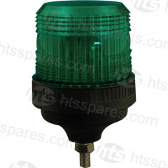 SINGLE BOLT XENON BEACON - GREEN (HEL0884)