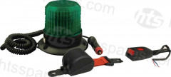 GREEN BEACON SEATBELT KIT - MAG BASE BEACON (HEL1107)