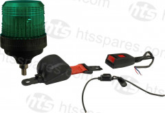 GREEN BEACON SEATBELT KIT - 1 BOLT BEACON (HEL1108)