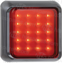 12/24V LED Square Fog Lamp (HEL1690)
