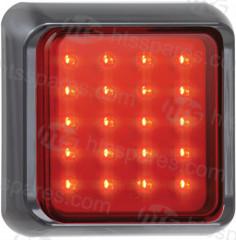 12/24V LED Square Fog Lamp (HEL1690)