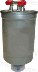 METAL IN-LINE FUEL FILTER (HFF0615)