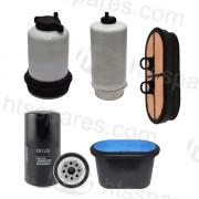 JCB 535/140V Telehandler Filter Kit - 500Hr (1 X Oil, 2 X Fuel, 2 X Air) (HFK0164)