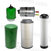JCB 535-140 Filter Kit - 500 Hr (1 X Oil, 2 X Fuel, 2 X Air) (HFK0165)
