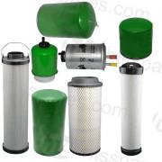 JCB 535-140 Filter Kit - 1000 Hr (1 X Oil, 2 X Fuel, 2 X Air, 2 X Hydraulic, 1 X Transmission) (HFK0380)