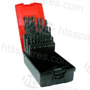 25PC Metric Hss Drill Set (1mm - 13mm) (HHP0287)