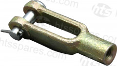 Clevis Yoke - With Pin (HLS0609)