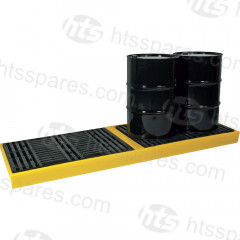 4 Drum In Line Spill Pallet (HOL0180)