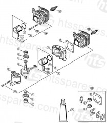Stihl Hs45 2 Mix Hedge Trimmer Parts
