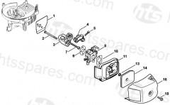 Stihl HS81R Hedgecutter Parts
