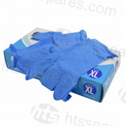 Blue Nitrile Gloves XL 100pk (Box of 10pks) (HSP0803-10)