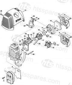 Stihl HT101 Pole Pruner Parts
