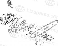 Stihl Ht101 & Ht131 Pole Pruner Parts