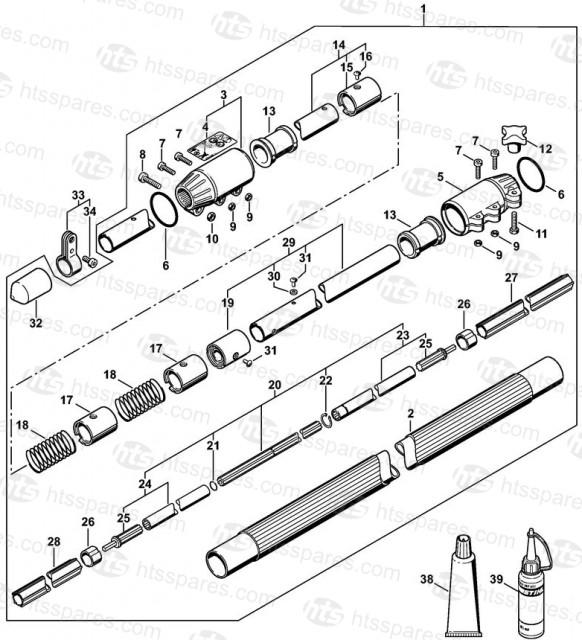 Ht131 Drive Tube Stihl Ht131 Pole Pruner Parts