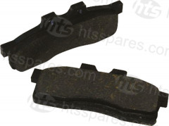 RECTANGULAR BRAKE PADS (HTL0401)