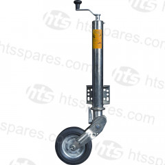 RETRACTABLE JOCKEY WHEEL PLATE MOUNTED (HTL0486)
