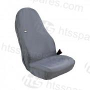 JCB Style Grey Hi-Back Seat Cover OEM: 333/H6559 (HTL2609)