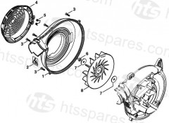 Stihl BG86C-E Blower Parts