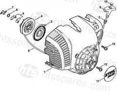 Stihl BG56C-E & BG86C-E Handheld Blower Parts