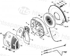 Stihl BR500 Backpack Blower Parts