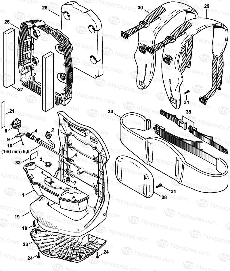 Stihl Blower Br 600 Parts Diagram Stihl BR 550 Blower