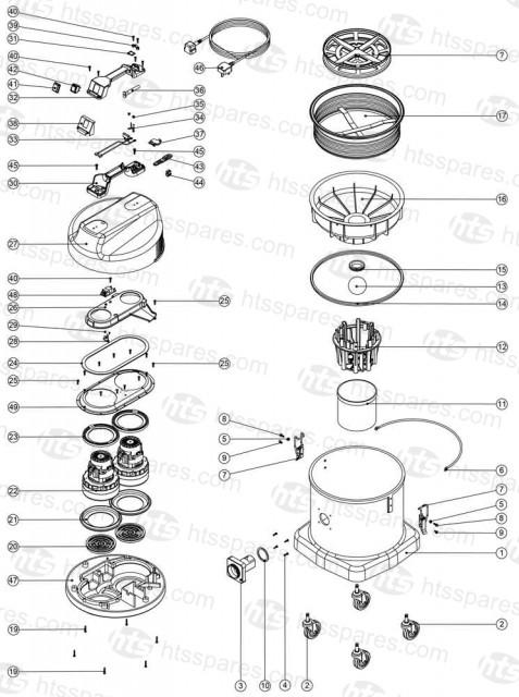 Numatic Wvd570 2 Parts 2005 Numatic Machine Parts